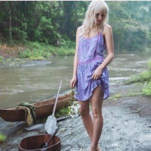 Spell & The Gypsy Wildflower Strappy Mini Dress